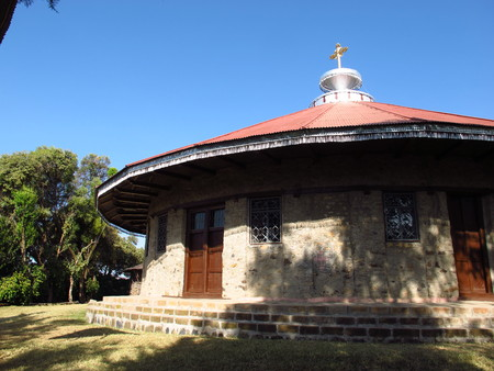 The Orthodox monastery in the heart of Africa, Ethiopia Stockfoto