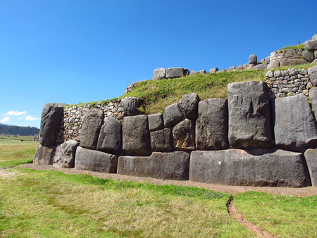 fortress in Cusco, Inca Empire, Peru