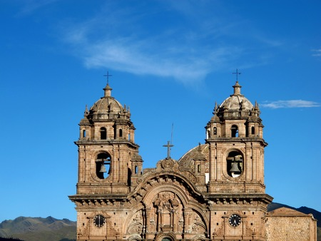 ancient church in Cusco, Peru