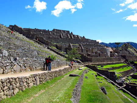 Machu Picchu is capital of the Inca Empire in the Andes mountains
