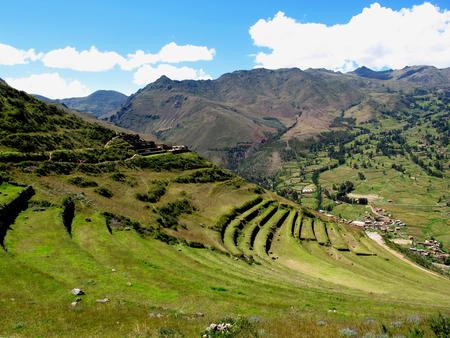 Urubamba Valle Sagrado de los Incas, Perú Foto de archivo