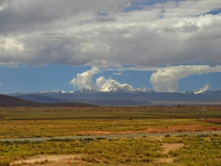 Altiplano in Bolivia, South America
