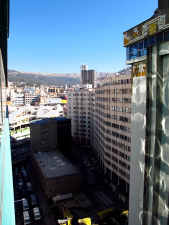 Downtown of La Paz, Bolivia