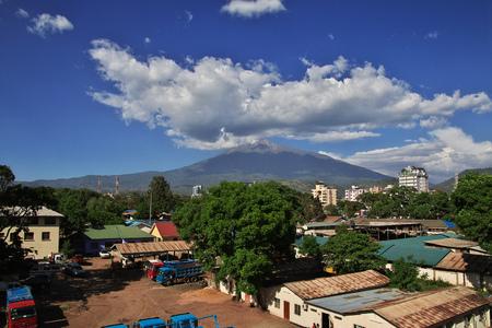 Mountain in Arusha city, Tanzania