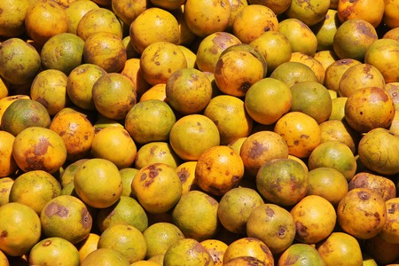 Fruits on the local market in Africa, Moshi Stock Photo