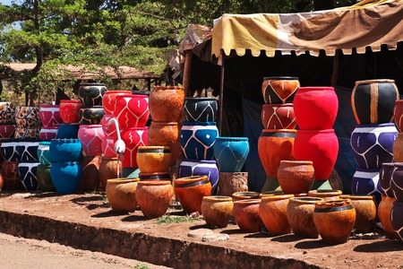 The local market in Africa, Moshi