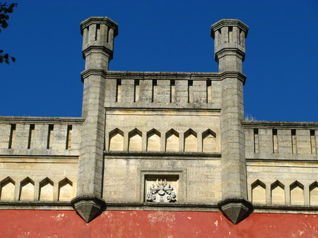 The palace in Estonia country Imagens - 124889492