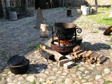 The castle in Narva city, Estonia