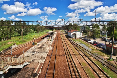 The railway in Russia, Summer