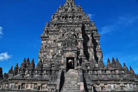 Prambanan is Hindu temple in Yogyakarta, Java, Indonesia Stok Fotoğraf