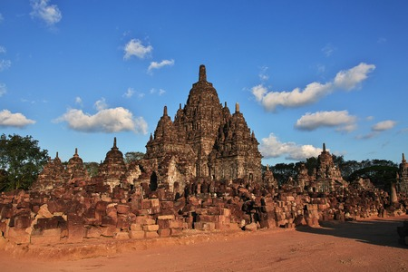 Prambanan is Hindu temple in Yogyakarta, Java, Indonesia Reklamní fotografie