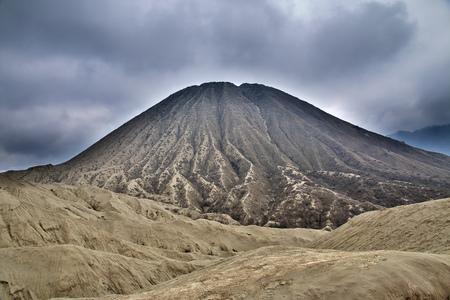 Volcano Bromo in Java island, Indonesia