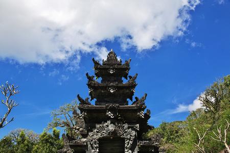 The temple on Bali island, Indonesia