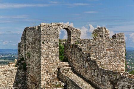 The ancient city of Berat in Albania