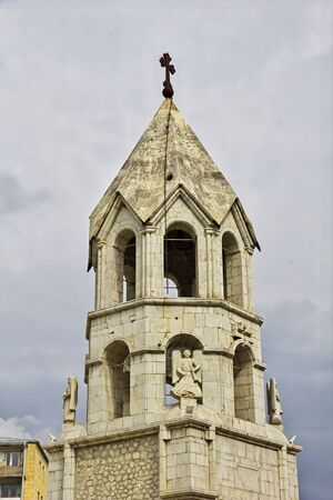 The church in Shushi city, Nagorno - Karabakh, Caucasus
