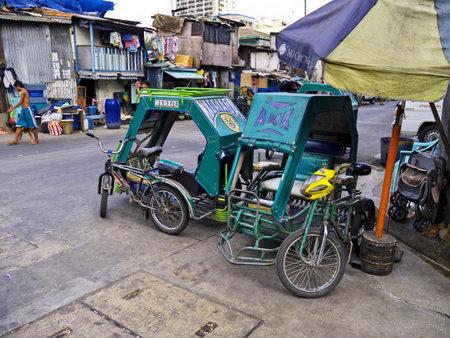 Manila, Philippins - 06 Mar 2012. The slums of Manila city, Philippines