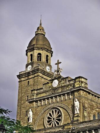 The cathedral in Manila city, Philippines