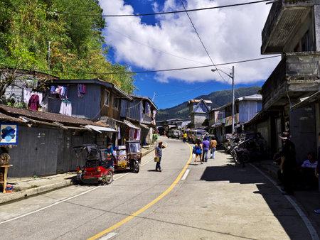 Banaue, Philippines - 09 Mar 2012. The small village in Banaue, Philippines Redactioneel