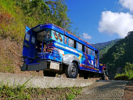 Banaue, Philippines - 09 Mar 2012. The Jeepney in Banaue, Philippines