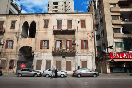 Beirut, Lebanon - 30 Dec 2017. The building in Beirut city, Lebanon