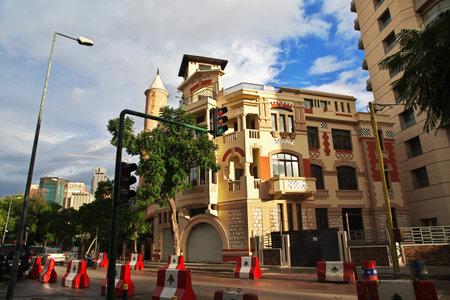 Beirut, Lebanon - 01 Jan 2018. The building in Beirut city, Lebanon