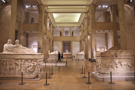 Beirut, Lebanon - 04 Jan 2018. History museum in Beirut, Lebanon