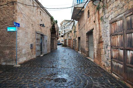 The street in Batroun, Lebanon