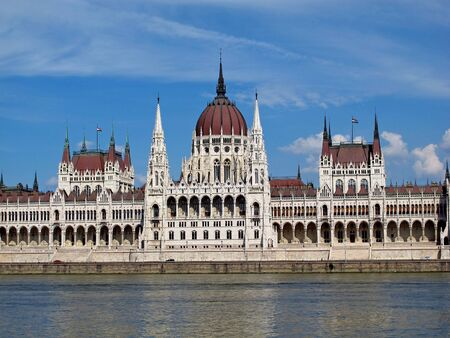 The Parliament in Budapest, Hungary Stock fotó