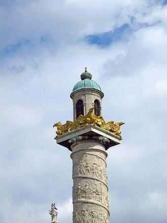The church in the center of Vienna, Austria