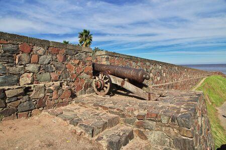 The fortress in Colonia del Sacramento, Uruguay Stock Photo