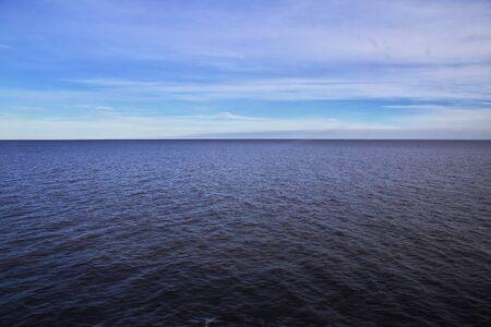 The view on La Plata river Imagens - 126289209