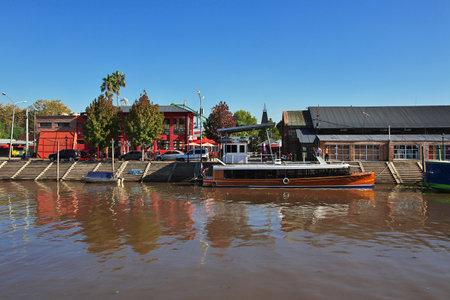 Buenos Aires/Argentinien - 03. Mai 2016: Das Delta des Tigre-Flusses, Buenos Aires, Argentinien