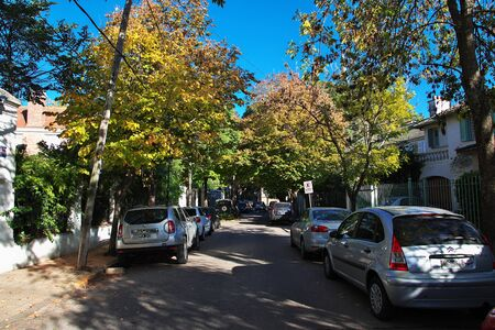 Buenos Aires / Argentina - 03 May 2016: The street in Tigre delta district, Buenos Aires, Argentina Editorial