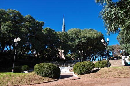 Die Kirche im Tigre-Delta-Viertel, Buenos Aires, Argentinien Standard-Bild