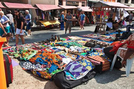 Rio de Janeiro / Brazil - 07 May 2016: The local market in Rio de Janeiro, Brazil Editorial
