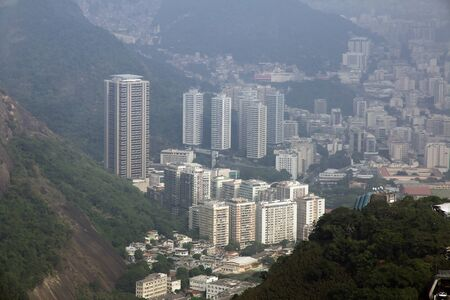 The view on Rio de Janeiro, Brazil