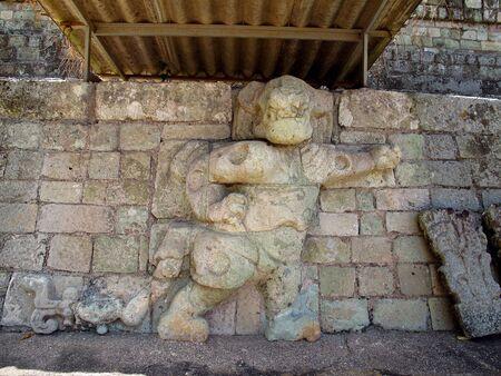 Ancient ruins in Copan, Honduras Stock Photo