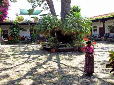 Antigua / Guatemala - 06 Mar 2011: The house in Antigua, Guatemala Editorial