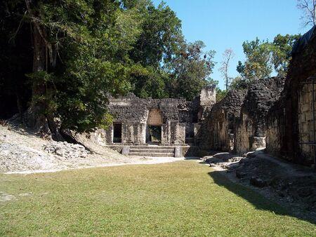 Ancient ruins in Tikal, Guatemala