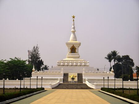 The ancient stupa in Vientiane, Laos