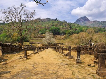 Vat Phou temple in Laos