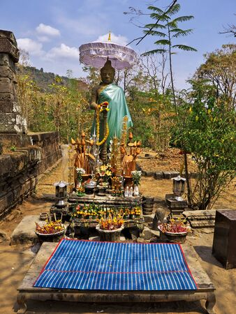 Vat Phou temple in Laos