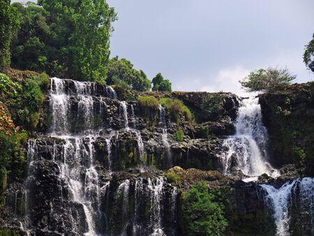The waterfall in Jungle, Laos
