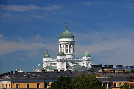St. Nicholas Cathedral in Helsinki, Finland Banque d'images