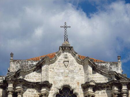 The church in Havana, Cuba Stock Photo