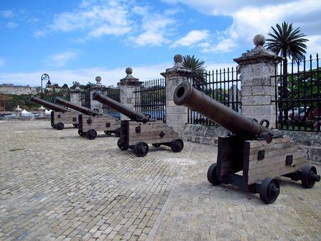 The fortress in Havana, Cuba