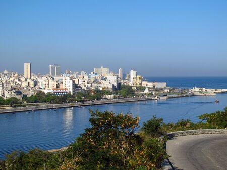 La vista sull'Avana vecchia, Cuba