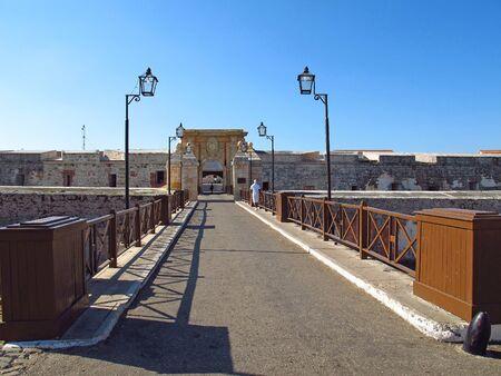 The old Fortress in Havana , Cuba
