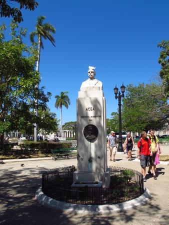 Cienfuegos  Cuba - 25 Feb 2011: The monument in Cienfuegos, Cuba