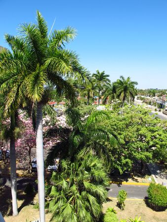 The park in Cienfuegos, Cuba Stock Photo - 129391038